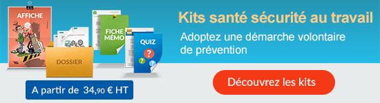 Kits opérationnels pour faire vivre la santé sécurité en entreprise - Découvrez les kits