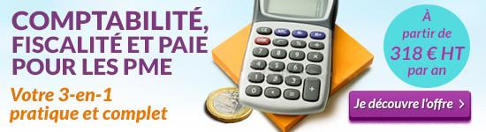 Découvrez l'offre Comptabilité, fiscalité et paie pour les PME