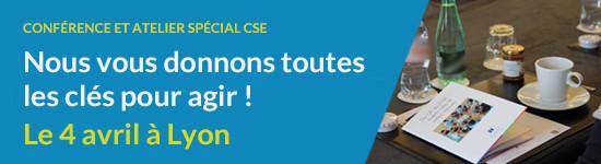 Journée spéciale CSE - le 4 avril à Lyon