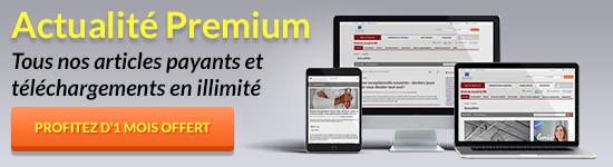Actualité Premium : créez votre compte gratuit