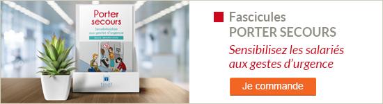 Fascicules Porter secours : sensibilisation aux gestes d'urgence - Je commande